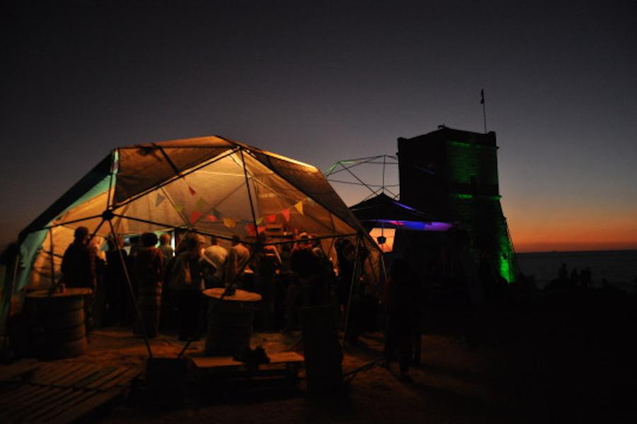 Bubble Festival stage