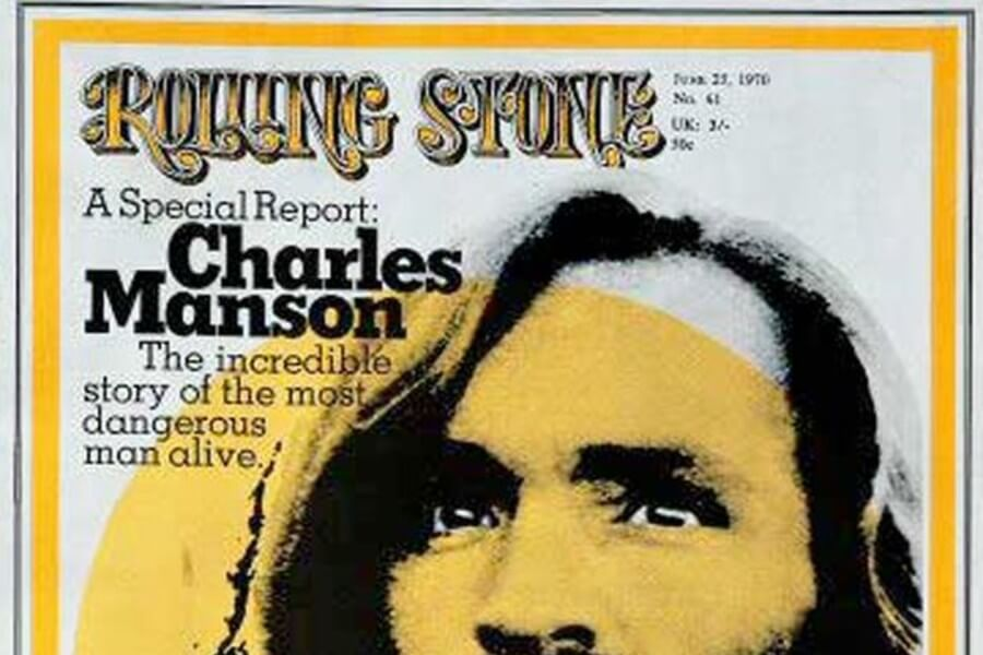 Charles Manson in Rolling Stone