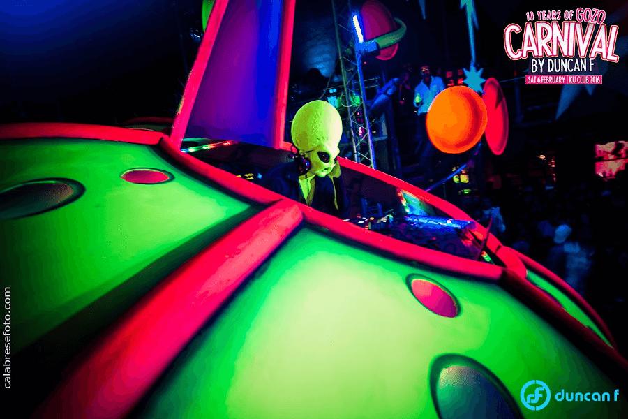 Duncan F at Bubble Festival