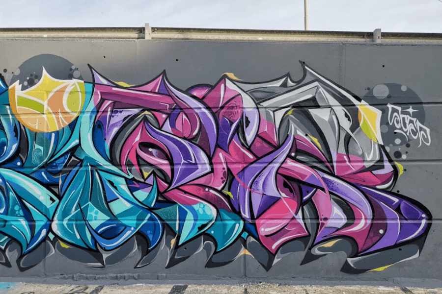 Making a living off your passion. Graffiti