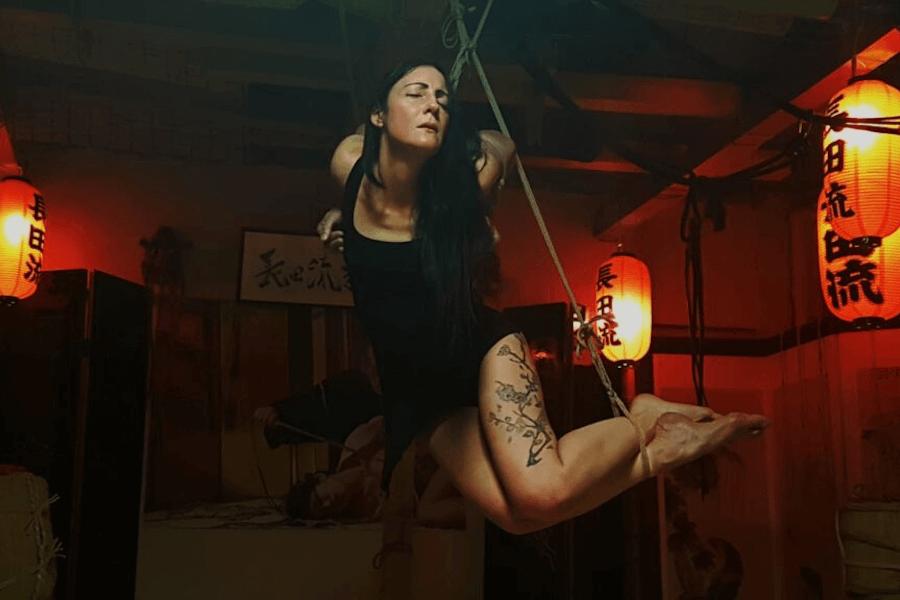 Shibari suspension