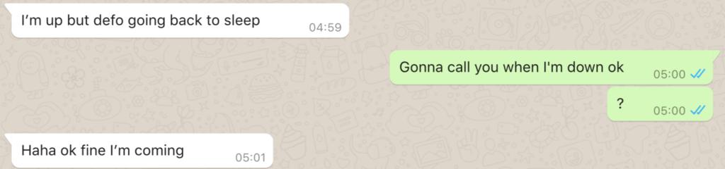 Fattima's reluctant acceptance