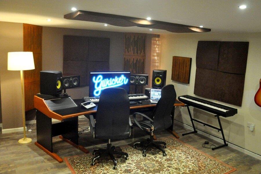 Inside Gilkicker studio
