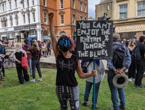 itzel bristol protest