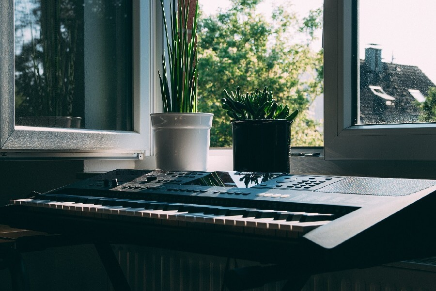 Create your catalogue of songs and instrumentals
