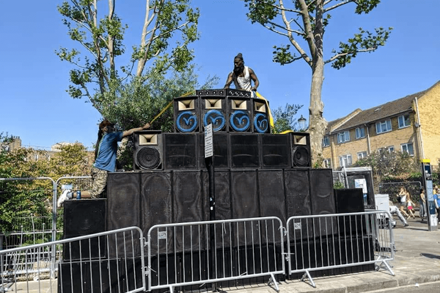 Sound system culture at Notting Hill Carnival