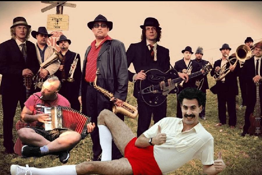 borat balkan music